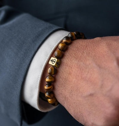 Tiger Eye and Lava Stone Bracelet Meaning