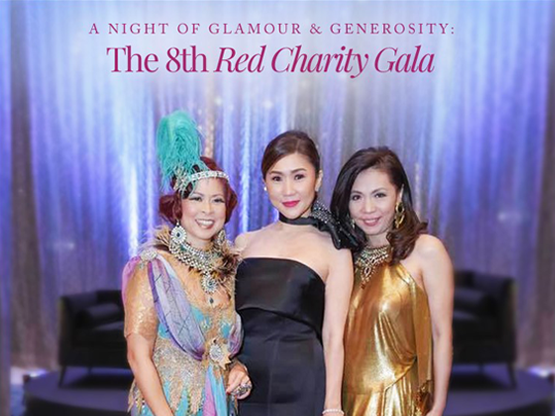 A NIGHT OF GLAMOUR AND GENEROSITY: THE 8TH RED CHARITY GALA