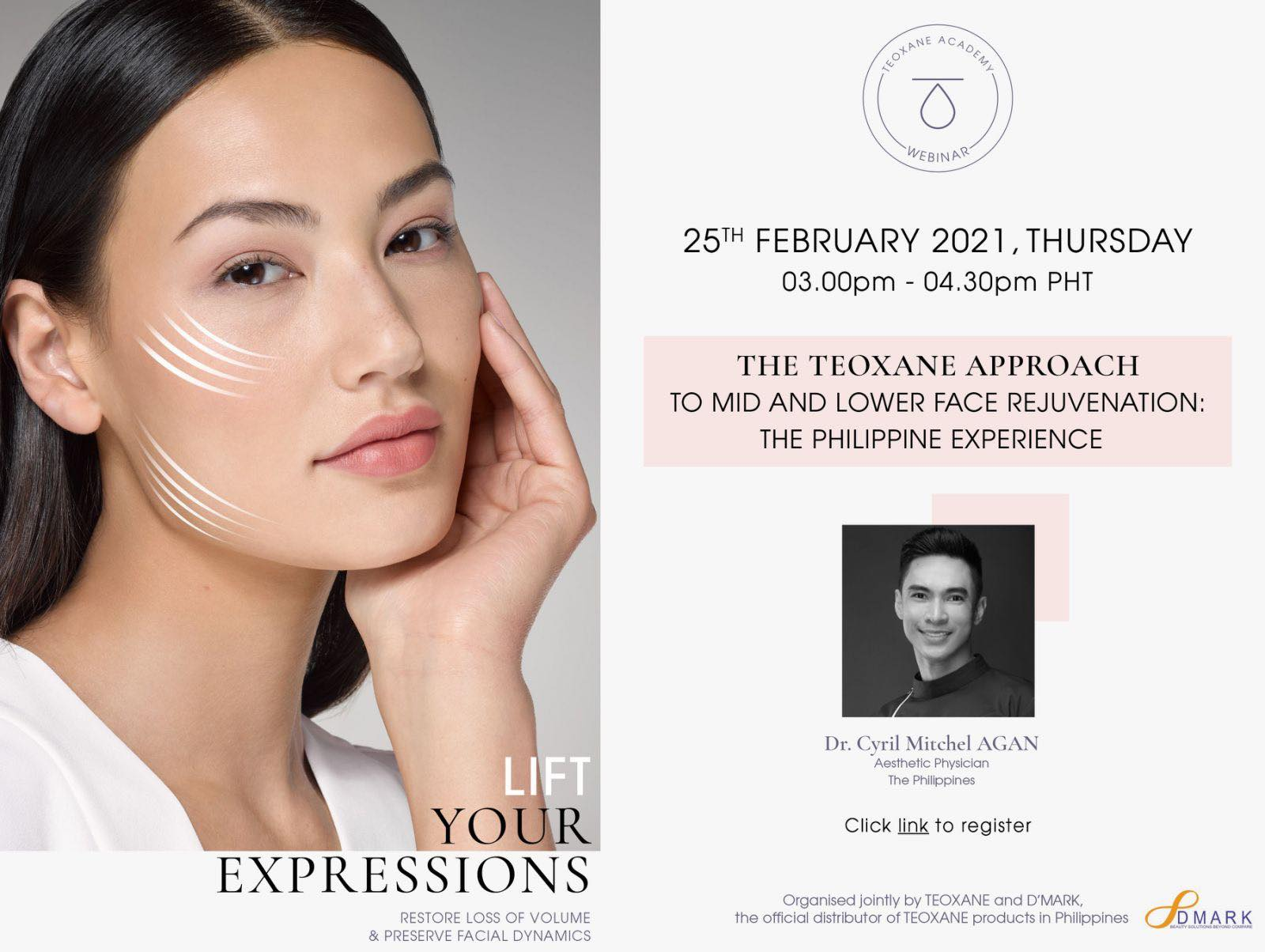 The Teoxane Approach - To Mid and Lower Face Rejuvenation - The Philippine Experience