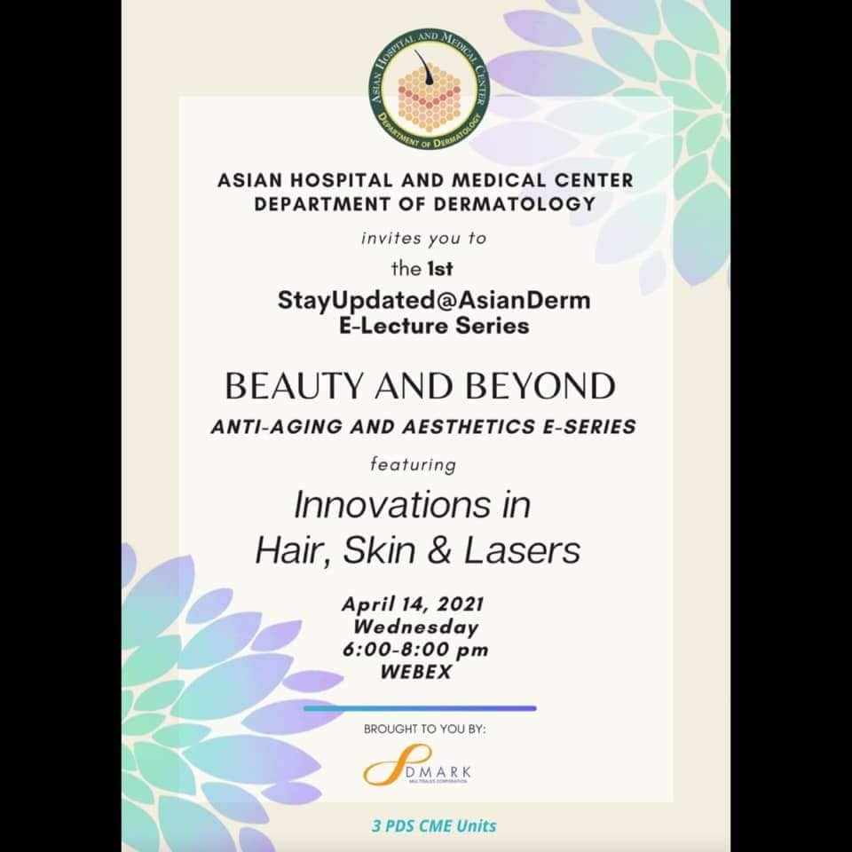 Beauty & Beyond - Anti-Ageing & Aesthetics E-Series featuring Innovations in Hair, Skin and Lasers