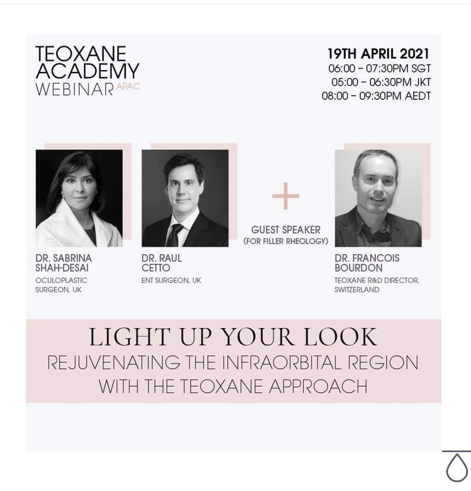 Light Up Your Look - Rejuvenating the Infraorbital Region with the Teoxane Approach