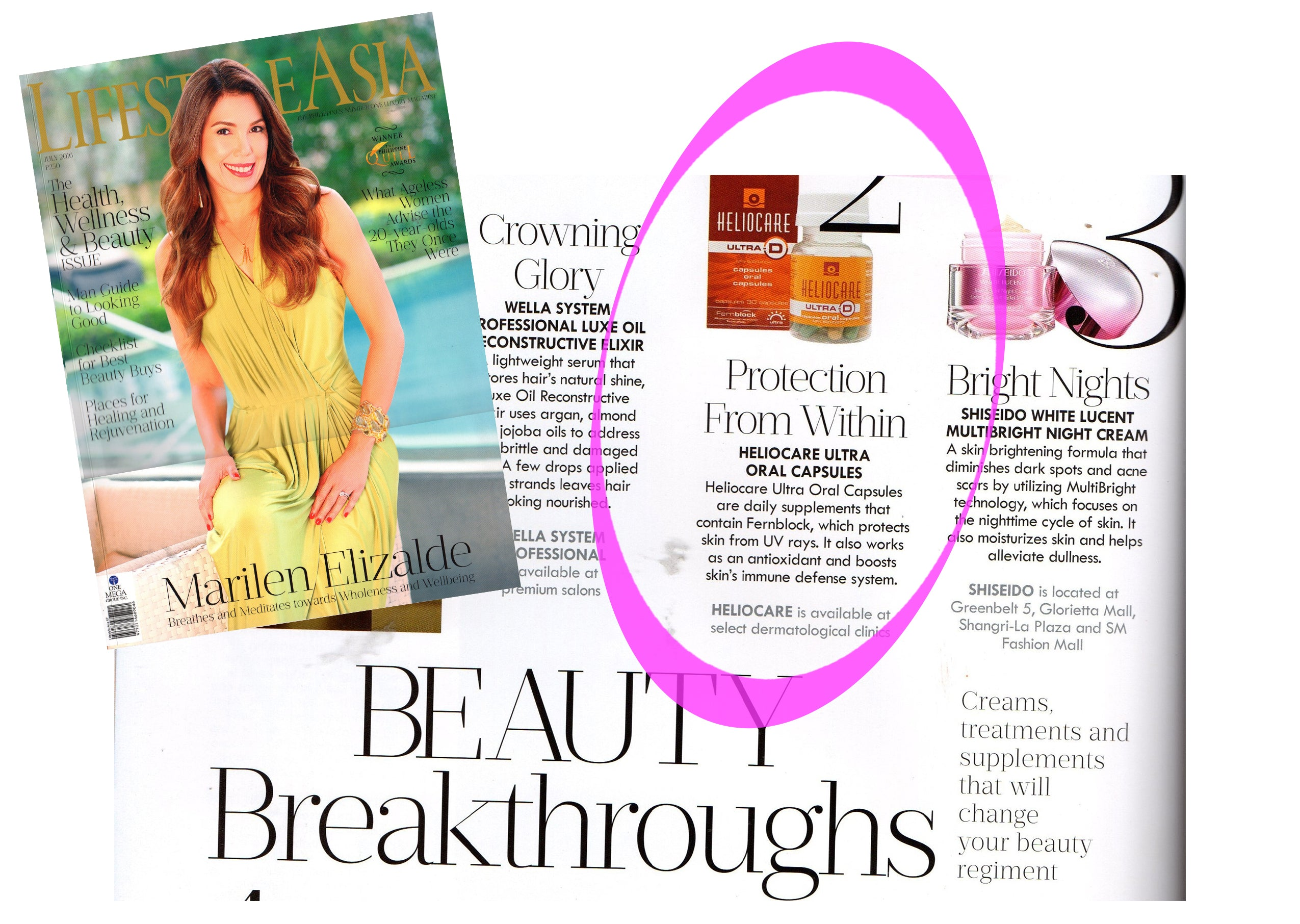 Beauty Breakthroughs - Protection from Within - Heliocare Ultra Oral Capsules