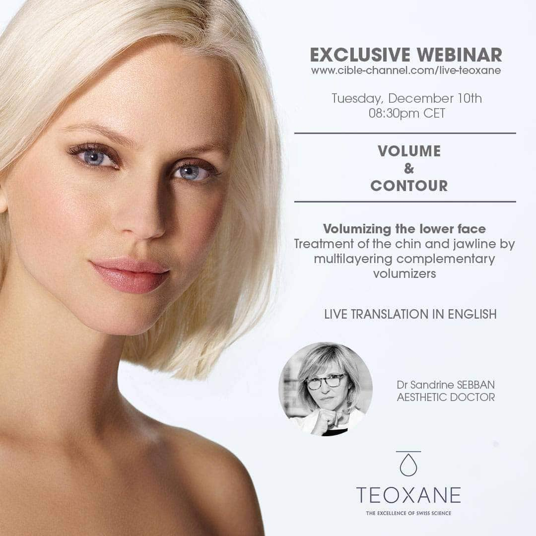 Volume & Contour - Volumizing the lower face - Treatment of the chin and jawline by multilayering complementary volumizers