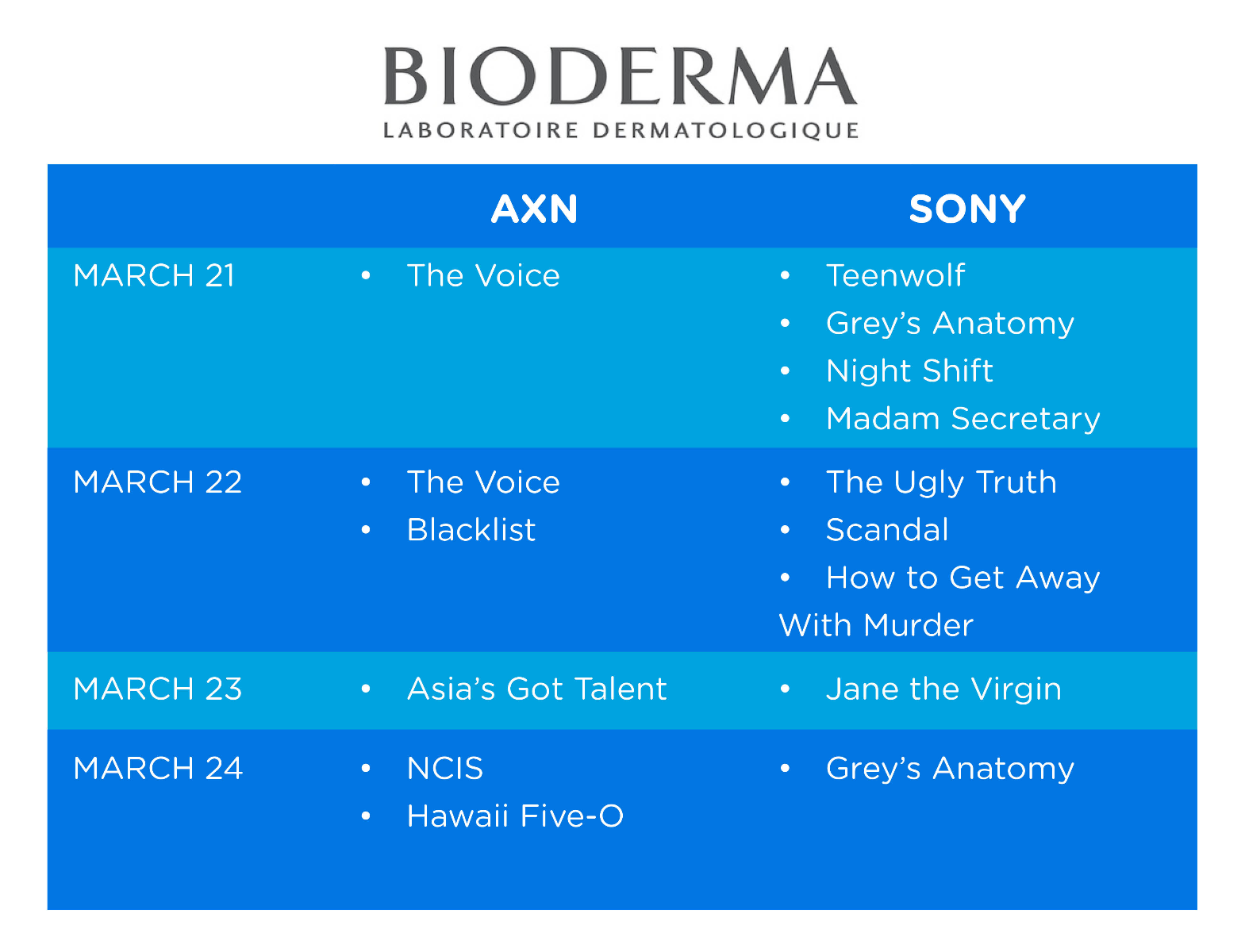 BIODERMA ON TV!