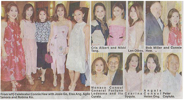 THE PHILIPPINE STAR - A GLITTERY, GLAMOROUS BIRTHDAY PARTY