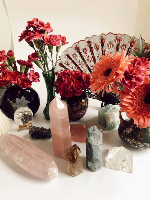 How to Cleanse, Charge, & Activate Your Crystals