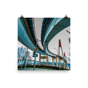New Westminster Sky Bridge 01 - Poster