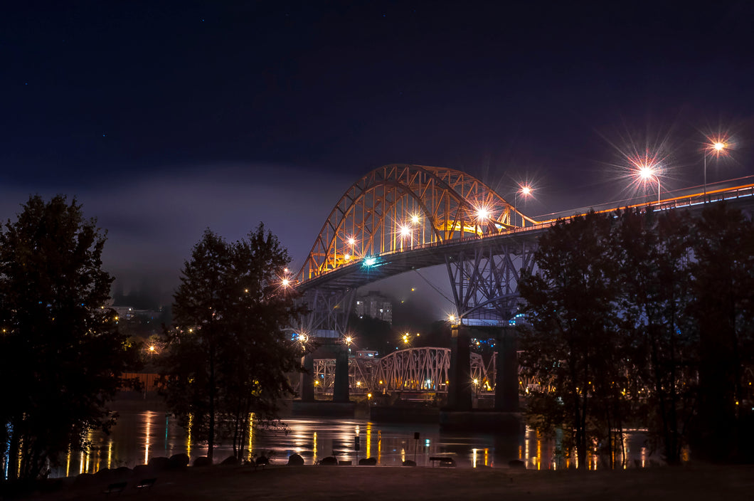 Pattullo at night - Digital Download Only