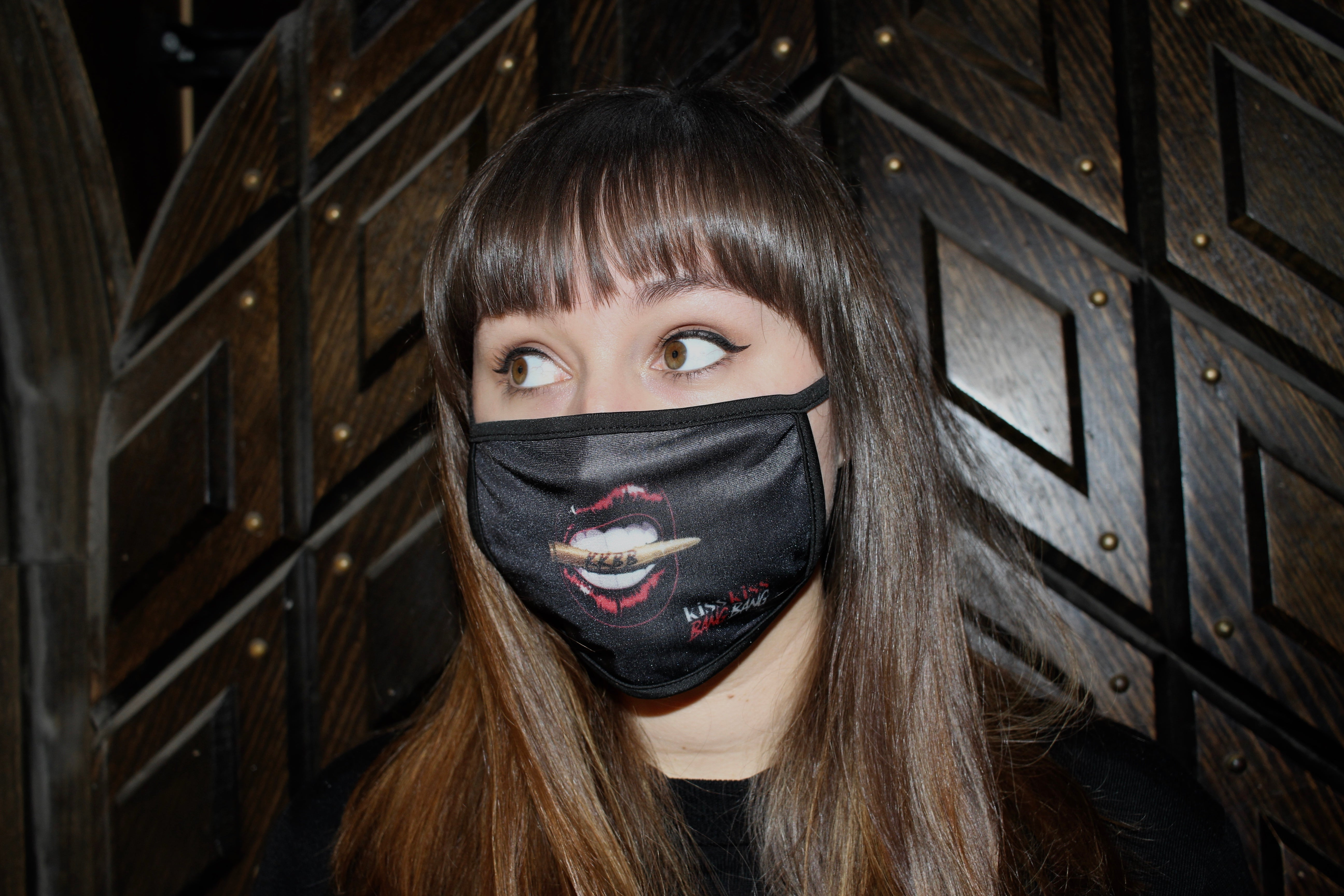 Kiss Kiss Bang Bang - Re-Usable Cloth Face Mask