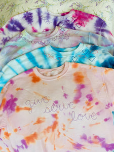 Custom Tiedye Sweatshirt