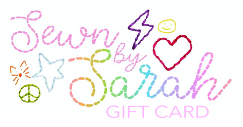Sewn By Sarah Gift Card