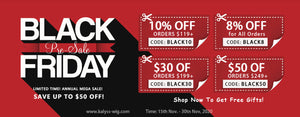kalyss black friday sales