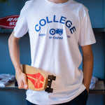 T-shirt College - ACTION/G10 - White
