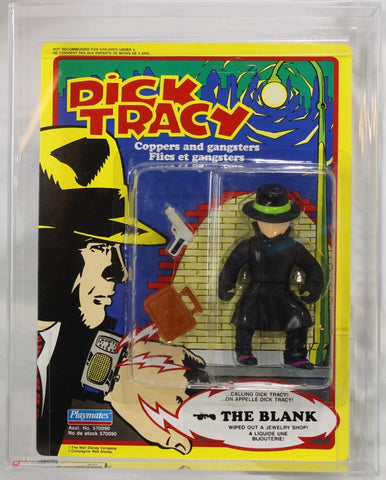 1990 - PLAYMATES - DICK TRACY - CANADA EXCLUSIVE - THE BLANK - AFA 80 NM