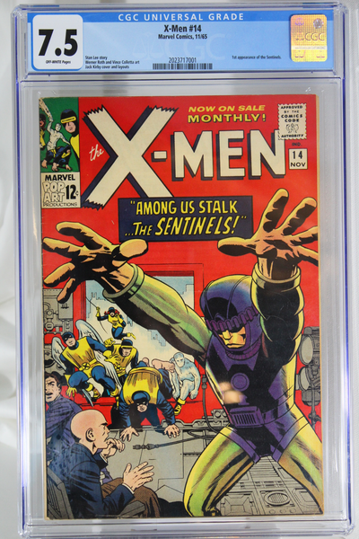 X-Men #14 - CGC 7.5 - 1st appearance of the Sentinels.