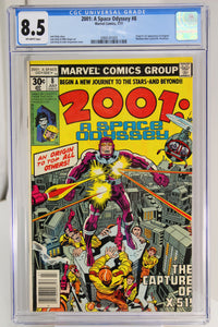 2001: A Space Odyssey #8 CGC 8.5 1st Appearance Machine Man