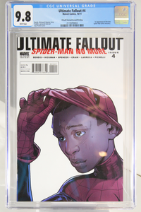 Ultimate Fallout #4 - CGC 9.8 - 2nd Printing - 1st app of New Spider-Man (Miles Morales)