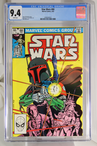 Star Wars #68 - CGC 9.4 - 1st Mandalorian - 2nd app of Bob Fett