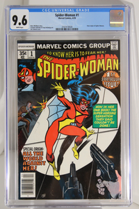 Spider-Woman #1 - CGC 9.6 - New origin of Spider-Woman