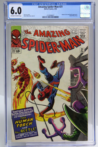 Amazing Spider-Man #21 CGC 6.0, Beetle Appearance