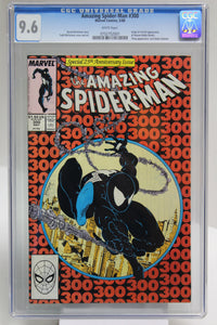 Amazing Spider-Man #300 CGC 9.6 White Pages, 1st Full Venom Appearance, Key Issue
