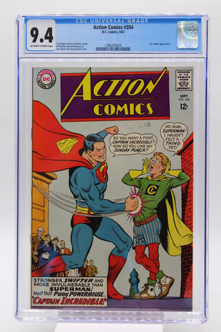 Action Comics #354 CGC 9.4 Lex Luthor Appearance