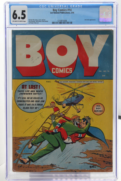 Boy Comics #14 - International Comic Exchange