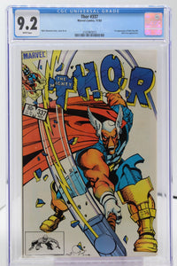 Thor #337 CGC 9.2 1st Appearance Beta Ray Bill