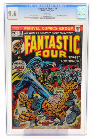 Fantastic Four #139 CGC 9.6, White Pages