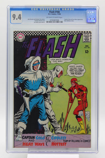 Flash #166 CGC 9.4, DC Comics