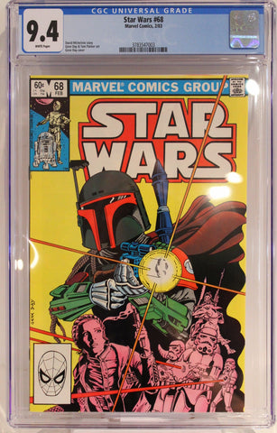 Star Wars #68 - CGC 9.4 - 2nd app of Boba Fett - 1st Mandalorian,
