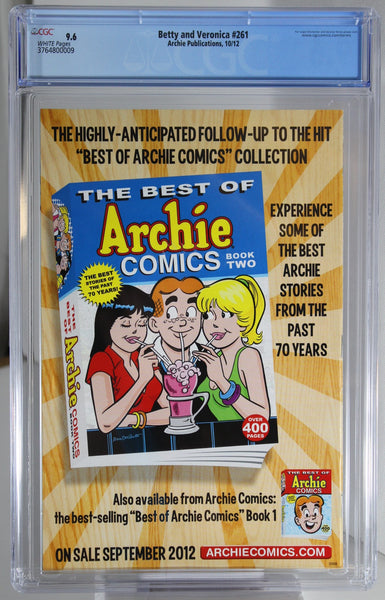Betty and Veronica #261 - CGC 9.6 - Dan Parent story and cover
