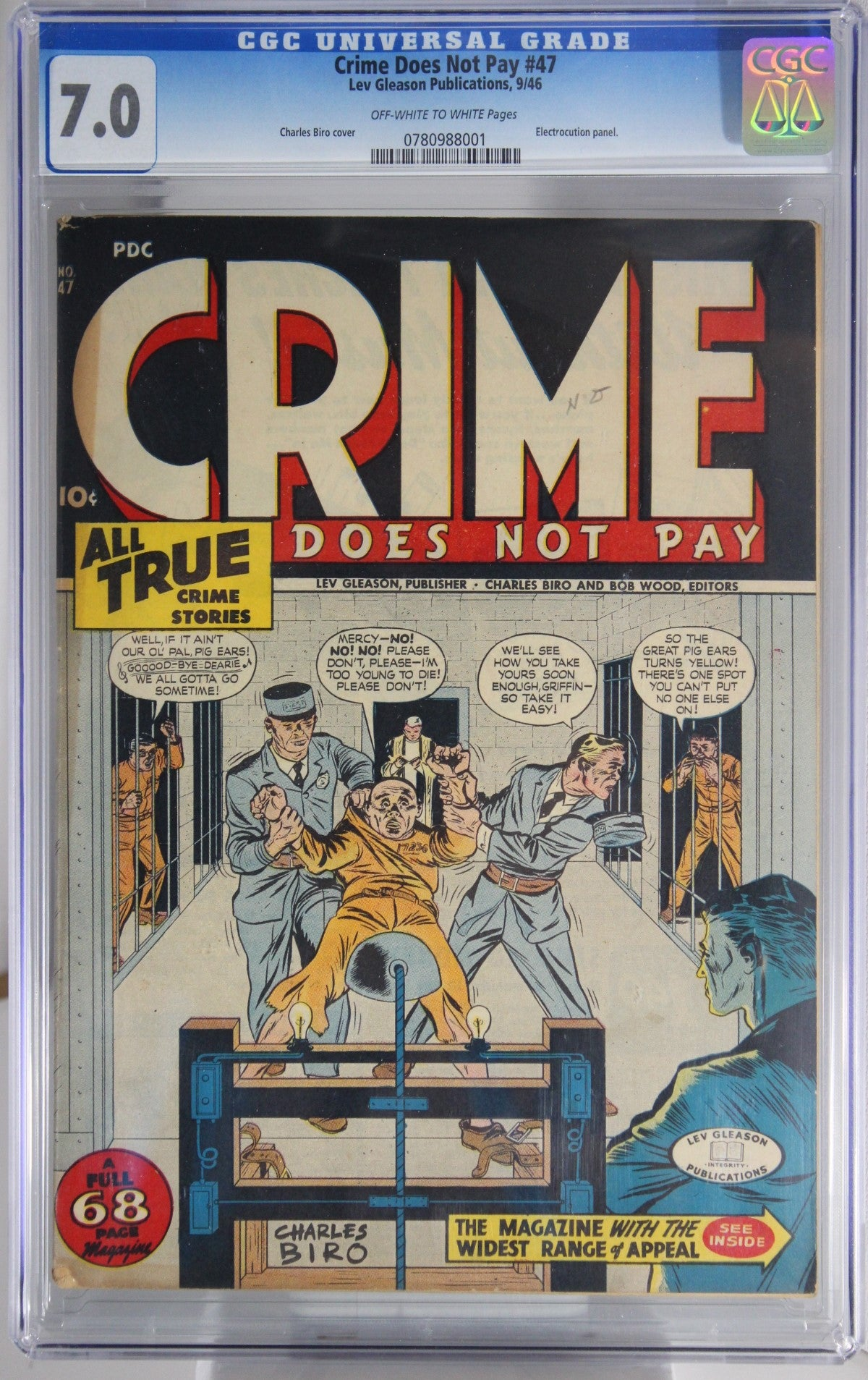 Crime Does Not Pay #47