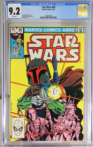 Star Wars #68 - CGC 9.2 - 2nd appearance of Boba Fett