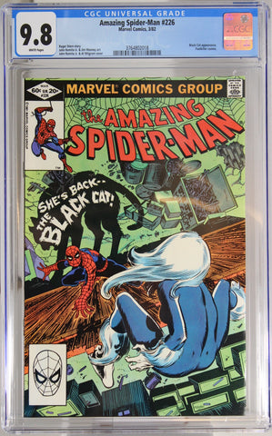Amazing Spider-Man #226 - CGC 9.8 - Black Cat appearance