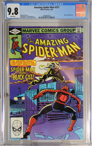 Amazing Spider-Man #227 - CGC 9.8 - Black Cat appearance