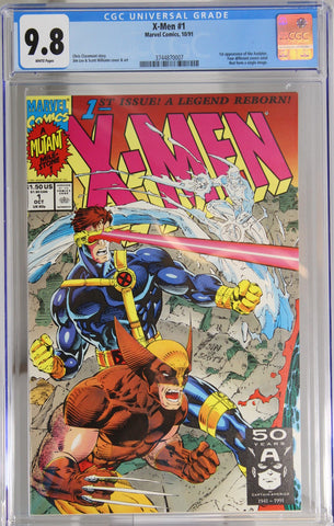 X-Men #1 - CGC 9.8 - 1st appearance of the Acolytes.