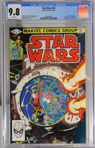 "Star Wars #61 - CGC 9.8 - ""Death"" of Shara Brie"