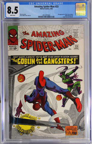 Amazing Spider-Man #23 - CGC 8.5 - 3rd appearance of the Green Goblin