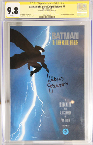 Batman: The Dark Knight Returns #1 - CGC 9.8 - Signed by Klaus Janson