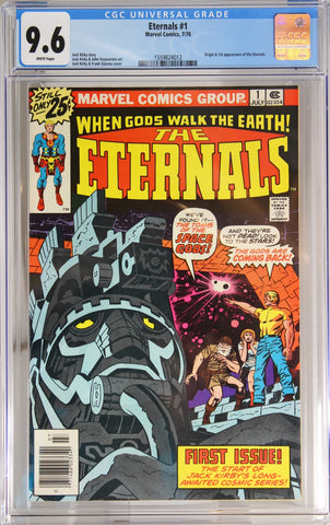 Eternals #1 - CGC 9.6 - Origin & 1st appearance of the Eternals.