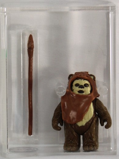 1984 - KENNER - STAR WARS - LOOSE ACTION FIGURE - WICKET W. WARRICK - AFA 80 NM