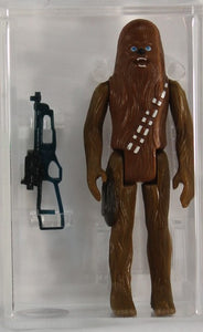 1977 - KENNER - STAR WARS - LOOSE ACTION FIGURE/HK - CHEWBACCA - AFA 75+ EX+/NM