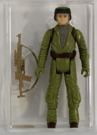 1983 - KENNER - STAR WARS - LOOSE ACTION FIGURE / CH - REBEL COMMANDO - PAINTED FACE - AFA 85+ NM+