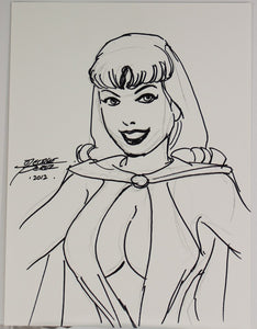 George Perez - Sketch - Headlights - Signed - 2012