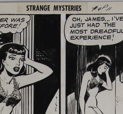 Strange Mysteries #4 - PG. 11 - Iger Workshop - 1952 - Baker/Forte etc...