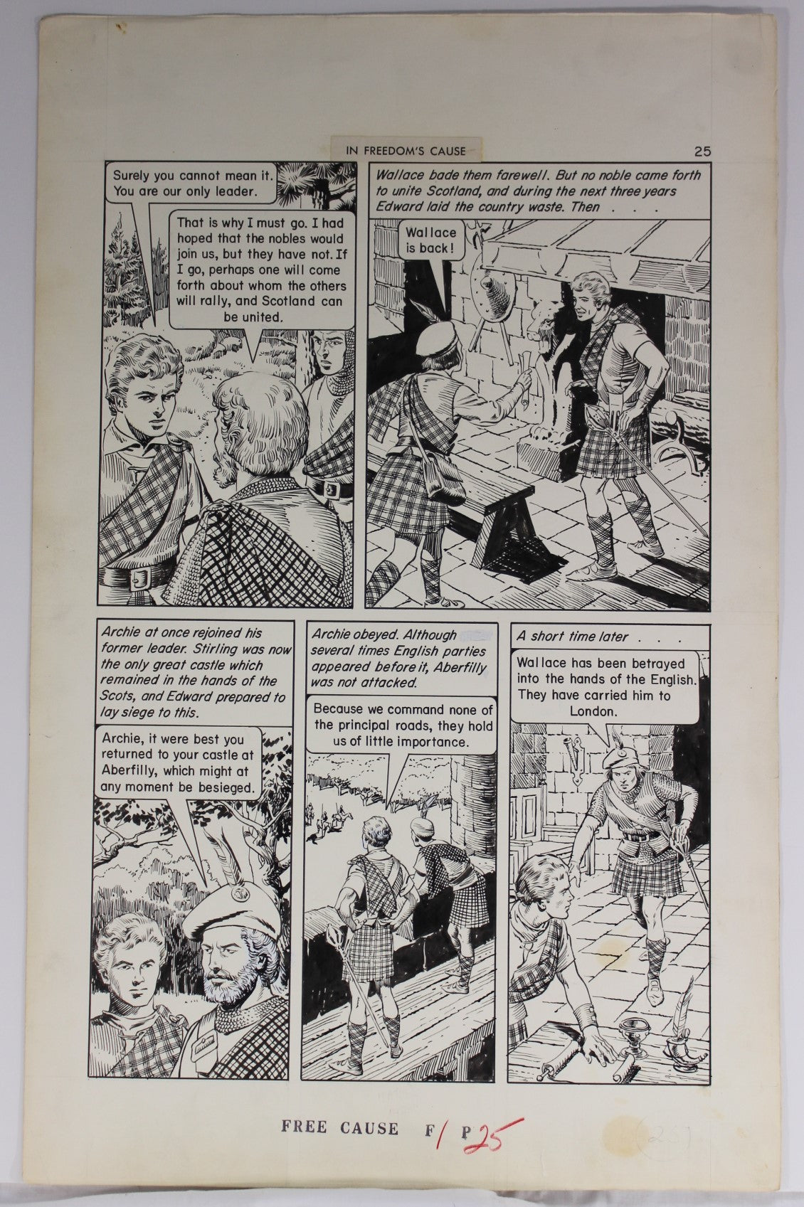 Classics Illustrated #168 - Pg. 25 - Reed Crandall