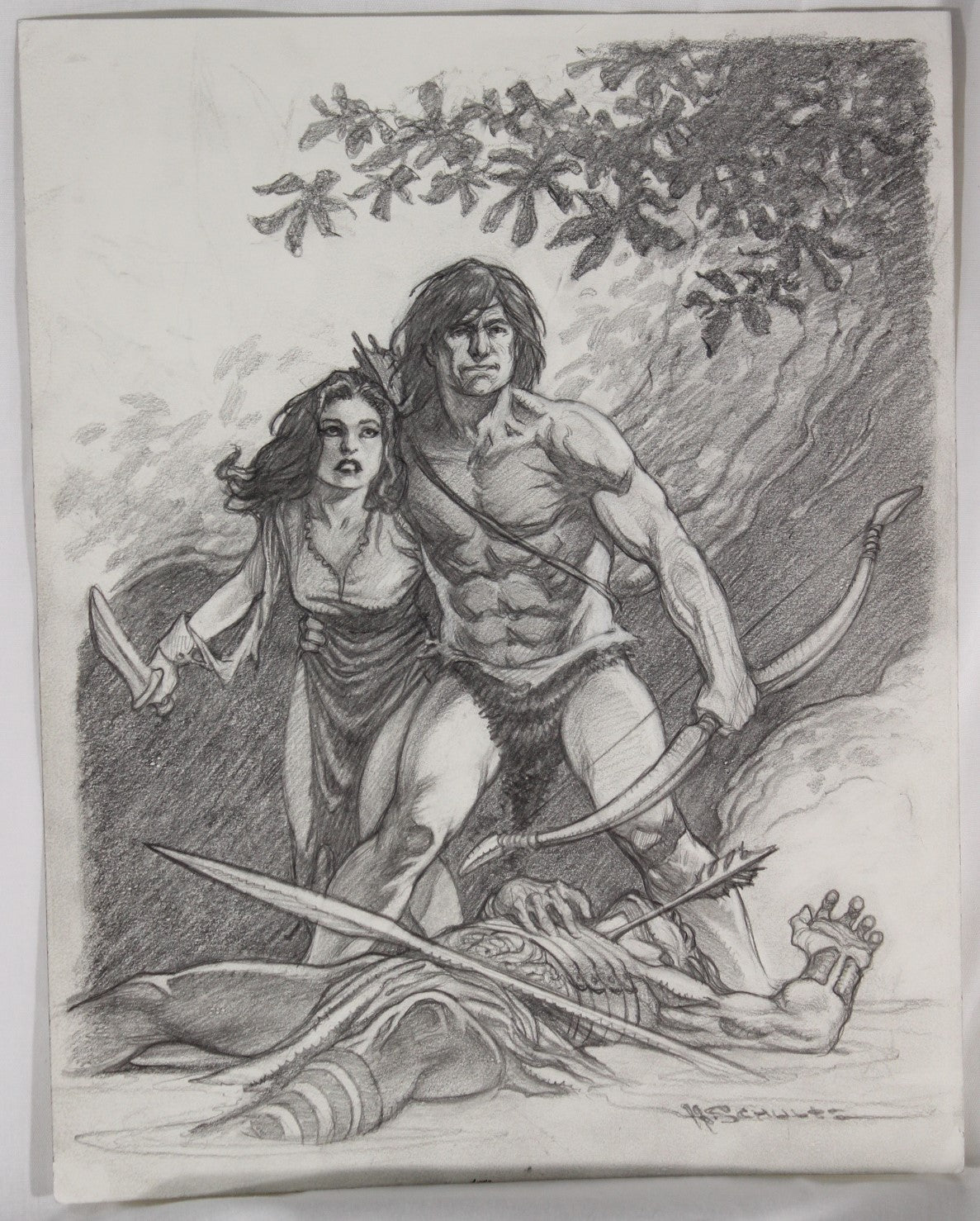 Marc Schultz - Tarzan and Jane - Published in carbon