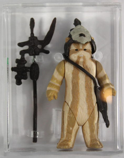 1983 - KENNER - STAR WARS - LOOSE ACTION FIGURE/HK -LOGRAY - LIGHT BROWN STRIPES - AFA 80 NM