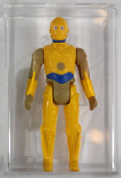 1985 - KENNER - STAR WARS - LOOSE ACTION FIGURE - C-3P0 (DROIDS) - AFA 85 NM+